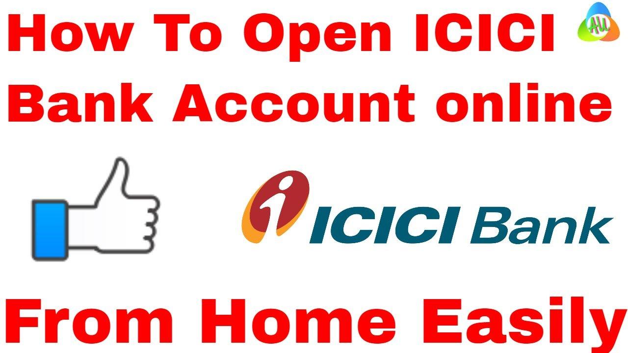 icici account opening