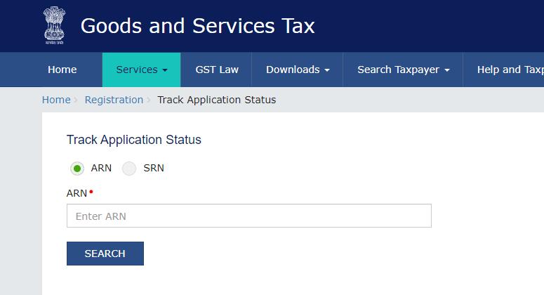 GST Registretion status Check