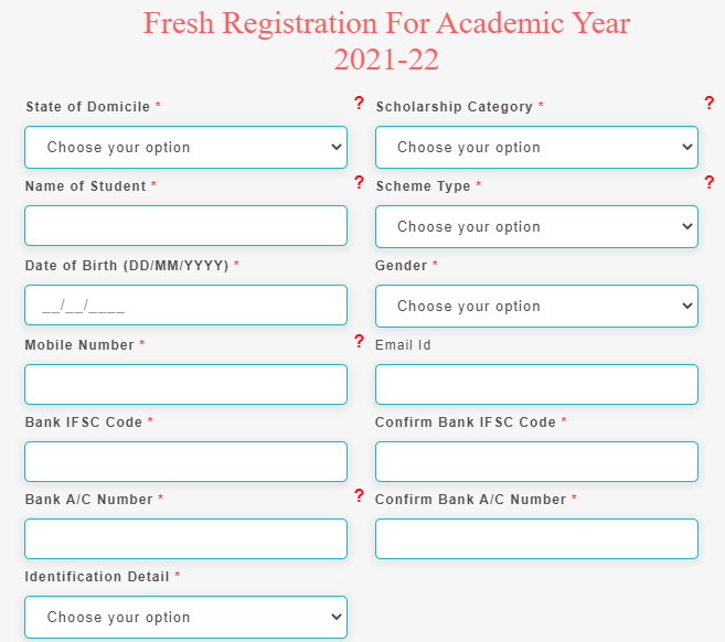 Pre and Post Matric NSP Scholarship Online Form 2021, MOMA Scholarship